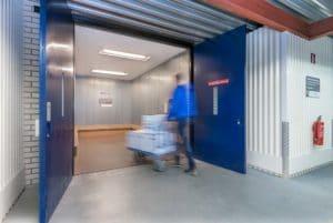 Handige lift binnen Blox Xtra Opslag